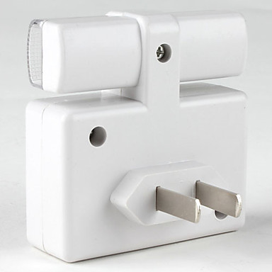 1pc Enchufe de pared Con Sensor 220 V