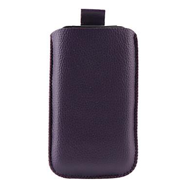 lichia padrão bolsa de couro pu para iPhone 3G e 3GS (roxo)