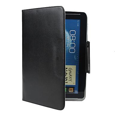 Protective PU Fall mit Ständer für Samsung Galaxy Hinweis 10,1 N8000