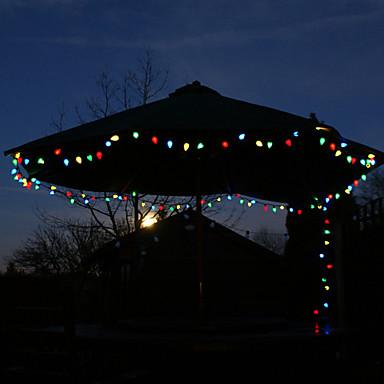 Solar 40-LED colorato luce esterna Fata Luci Decorazione di Natale della lampada