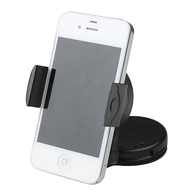 Telefonholderstativ Bil Vindskærm 360° Rotation Plastik for Mobiltelefon