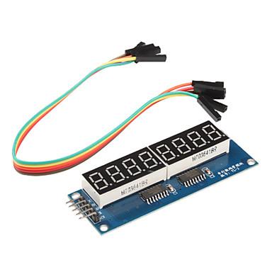 8 x module de sept segments pour (pour Arduino) (595 conducteur)