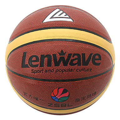 붉은 색 PVC + 부틸 내부 칠 크기 농구 0.635kg