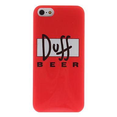 Duff Beer kova kuori iPhone 5:lle