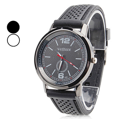 Men's Plastic Analog Quartz Wrist Watch (Black) Cool Watch Unique Watch Fashion Watch