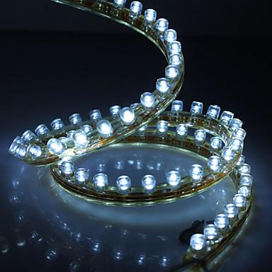 Waterproof 120cm 120-LED White LED Strip Light for Car (12V)