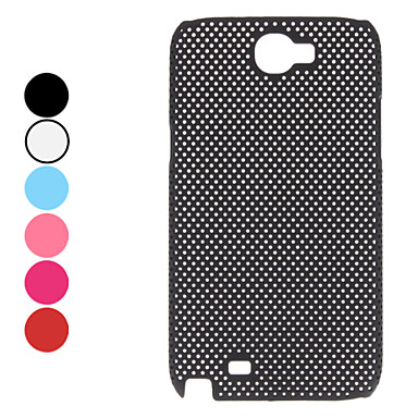 Hollow Out Style Dot Pattern Hard Case for Samsung Galaxy Note 2 N7100 (Assorted Colors)