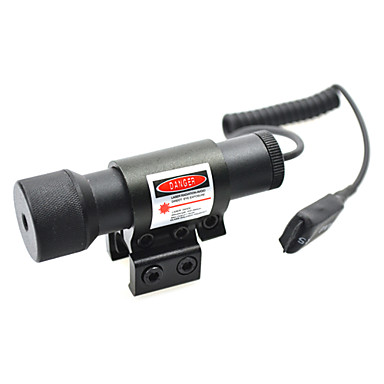 HAWKS Small Red Sight Scope with Rat Tail(Slot:1.67-2.4cm)