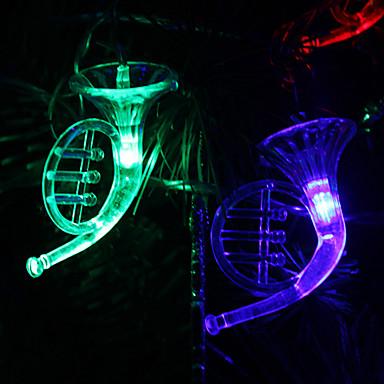 6m 32-led müzik aleti renkli ışık kordonu şeklinde peri lambası için (220v)