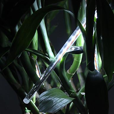 0.5m Bară Rigidă Cu Becuri LED 240 LED-uri Dip Led Alb Petrecere / Decorativ / Nuntă 120-240 V 1set / # / IP44