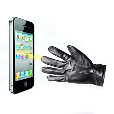 Leather Touch Screen iPhone Gloves