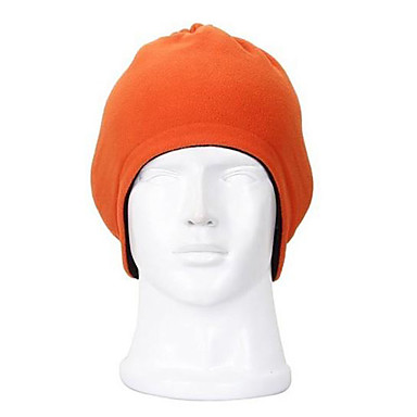 Polyester Windproof Warm Keeping Double-Deck Skiing Cap