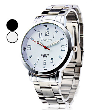 Men's Wrist Watch Casual Watch Alloy Band Charm / Fashion / Dress Watch Silver