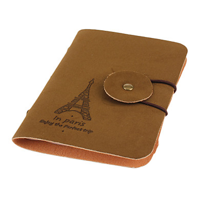 Eiffel Tower Pattern 20pcs Credit Card Case Wallet (Random Color)