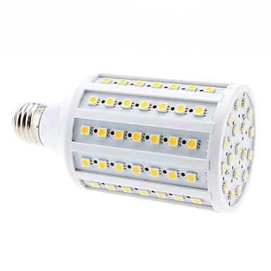680lm E26 / E27 LED-maïslampen 102 LED-kralen SMD 5050 Warm wit 220-240V