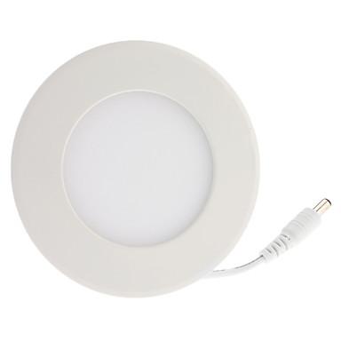 Lâmpada de Teto Encaixe Embutido 4 LED de Alta Potência 360 lm Branco Quente 3500K K AC 85-265 V