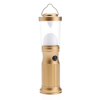 Small Golden Aluminum Alloy Novel Portable Camping Light