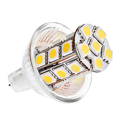 5W GU4(MR11) LED Corn Lights MR11 27 SMD 5050 420 lm Warm White DC 12 V