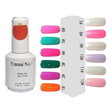 UV Gel Colorful Nail Art Nail Polish (15ml,1 Bottle)