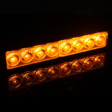 4W Yellow LED Flash Light for Car Brake/Reversing/Turning Signal Lamp (12V)