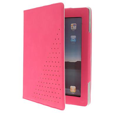 beskyttende pu læderetui med stander til iPad 2/3/4