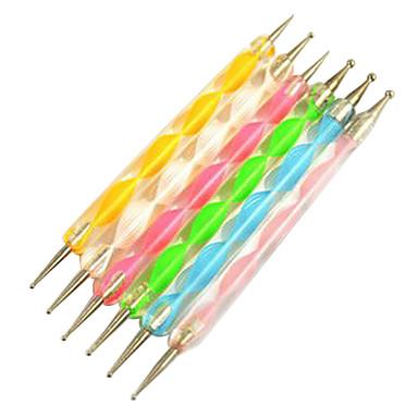 ferramenta de polimento dupla cabeça de metal prego (cores aleatórias, 1pcs)