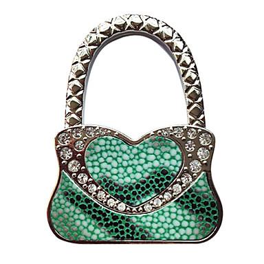 Green Handbag Design Folding Bag Hanger Handbag Holder Hook