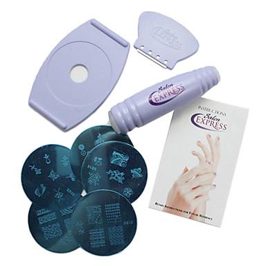 Nail Salon Art Stamping Kit Nail Printing Tool