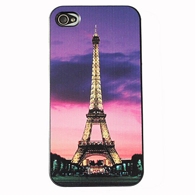 Eiffel Tower Night Scene Hard Case for iPhone 4/4S