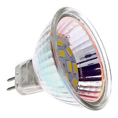 GU5.3(MR16) 2 W 12 SMD 5730 180 LM Warm White Spot Lights DC 12 V