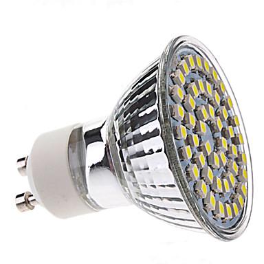 3W 250-350 lm GU10 Focos LED MR16 48 leds SMD 3528 Blanco Natural AC 220-240V