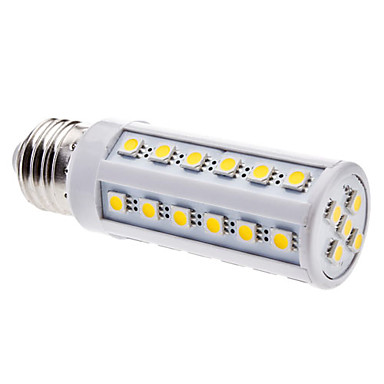 5W 3000lm E26 / E27 Ampoules Maïs LED T 41 Perles LED SMD 5050 Blanc Chaud 220-240V