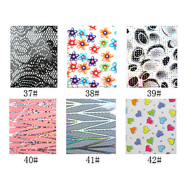 1 Foil Stripping Tape Abstract Fashion High Quality Daily