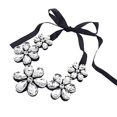 Kadın Açıklama Kolye Kristal Kübik Zirconia Moda Siyah Gümüş Kahve Mücevher Için Özel Anlar Doğumgünü