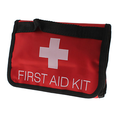 Cloth Travel First Aid Kit(Red)
