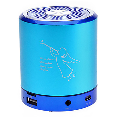 Mini Speaker Portátil Coluna Fit For MP3/MP4/PO/Cellphone (4 cores) T2020