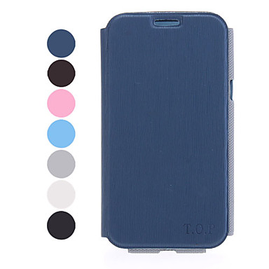 Stand Available Leather Samsung Mobile Phone Cases for Galaxy Note 2/7100(7 Colors)