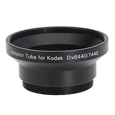52mm Tube Adaptateur et filtre pour Kodak DX6440/DX7440 Noir