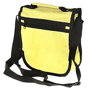 su geçirmez yastıklı yumuşak koruyucu taşıma çantası çantası dijital kamera için m-boyutlu - sarı