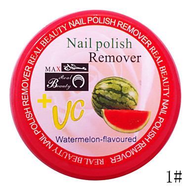 36PCS VC Fruity Nail Polish Remover Towels Non-woven Fabrics(Assorted Smells)