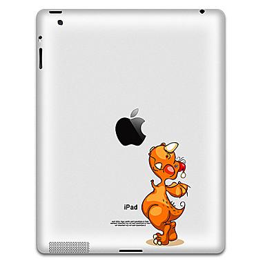Animaux autocollant de modèle de protection pour iPad 1, iPad 2, iPad 3 et le nouvel iPad