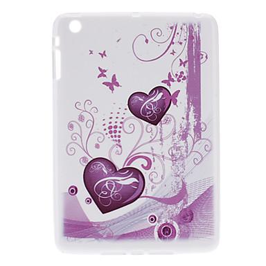 Motif étui souple de protection du coeur pour le mini iPad