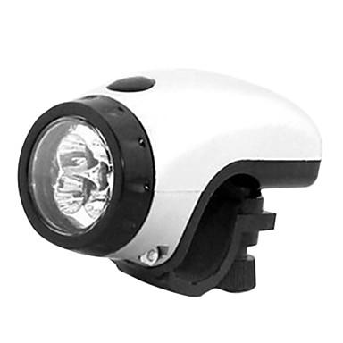 Alla moda 5 LED della bicicletta della luce anteriore (senza batteria) S250002 (Bianco)