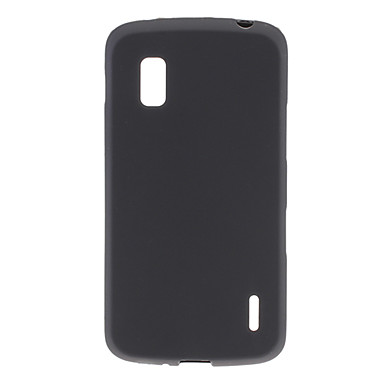 Simple Designs TPU Soft Case for Nexus 4 E960 (Assorted Colors)
