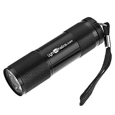 LITB Portable 9-LED White Light taskulamppu (3xAAA)