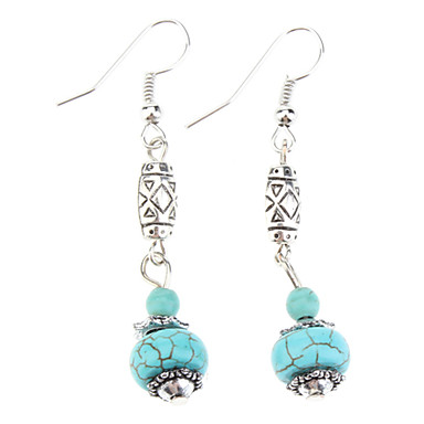 Women's Turquoise Turquoise Drop Earrings Dangle Earrings Earrings - Vintage Bohemian Statement Ball For Christmas Gifts Party Birthday