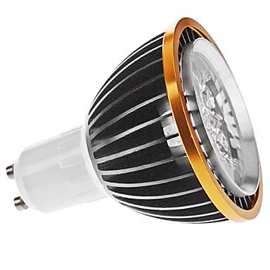Faretti LED 5 LED ad alta intesità MR16 GU10 5W Intensità regolabile 350 LM Bianco caldo AC 220-240 V