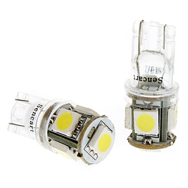 T10 Truck & Trailer White 1W SMD 5050 6000-6500 Instrument Light Side Marker Light
