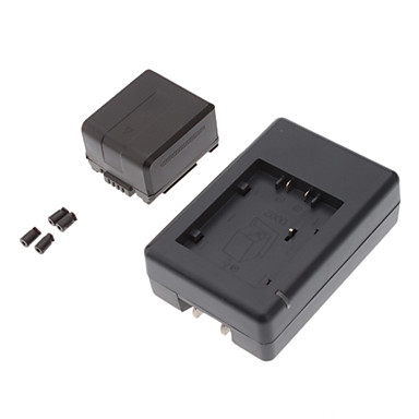Battery + Charger VW-VBG130-K for Panasonic Camcorder(1320mah,7.2V)