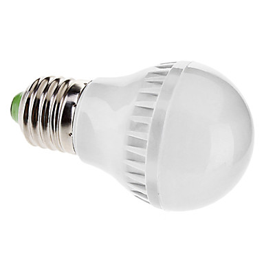 E27 3.5W 21x5050SMD 180-210LM 3000-3500K Warm White Light LED Ball Bulb (110V)